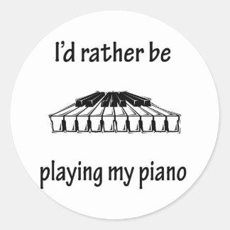 Playing My Piano Sticker