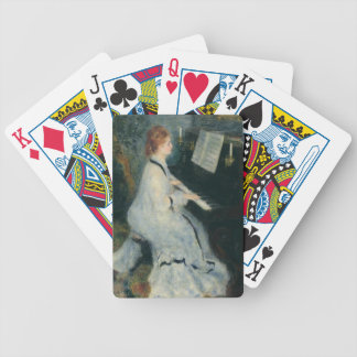 Playing Piano by Candlelight Bicycle Playing Cards