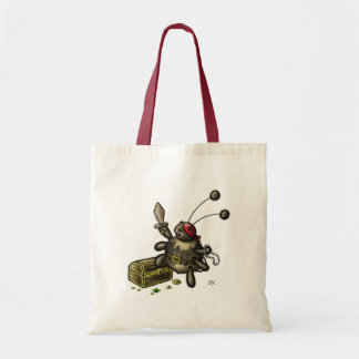 Playing Pirate Tote Bag