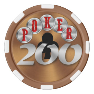 Playing poker chip 200