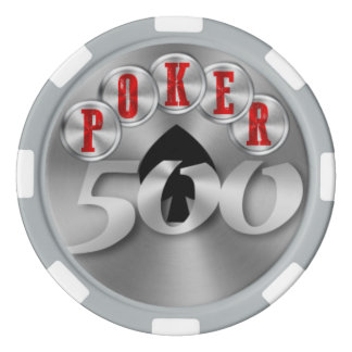 Playing poker chip 500