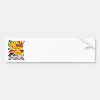 Playing-Politics-V-1 Bumper Sticker