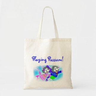 Playing Possum! Tote Bag