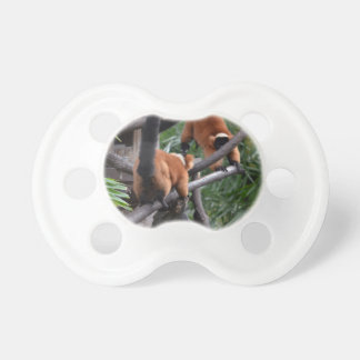 Playing Primates Red Bellied Lemurs Baby Pacifiers