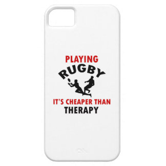 playing rugby design barely there iPhone 5 case