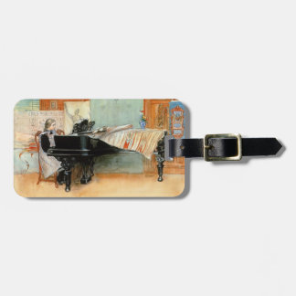 Playing Scales 1898 Luggage Tag