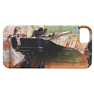 Playing Scales - Carl Larsson artwork iPhone 5 Cover