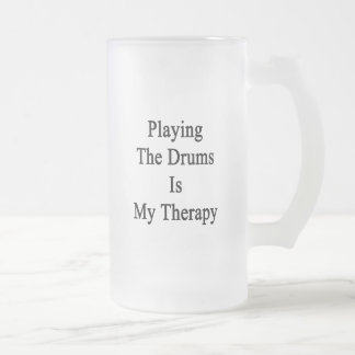 Playing The Drums Is My Therapy Mugs