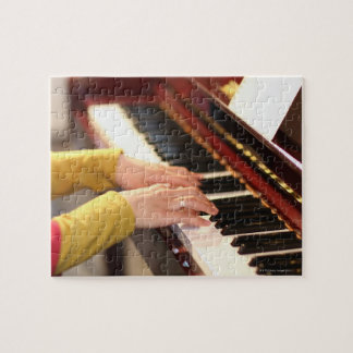 Playing the Piano Jigsaw Puzzle