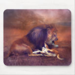 Playing With Dad Art Mousepad
