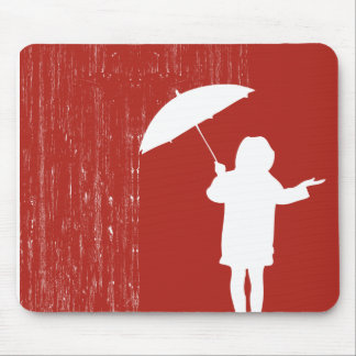 Playing with the rain mouse mat