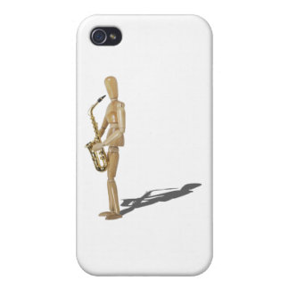 PlayingTheSaxophone020511 iPhone 4/4S Cases