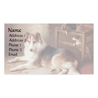 Playmates - Dog Kitten - Puppy Pack Of Standard Business Cards