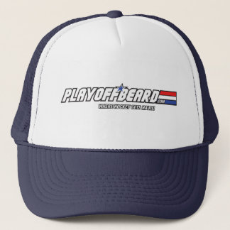 Playoff Beard. com Trucker Hat