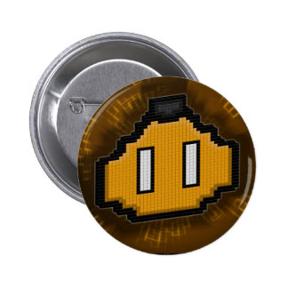 PlayPin 6 Cm Round Badge