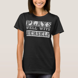 Plays Well with Herself Introvert Imagination Tee