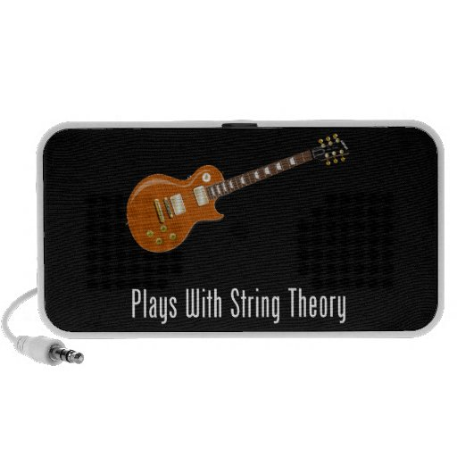 Plays With String Theory - Guitar Notebook Speakers