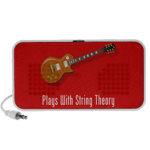 Plays With String Theory - Guitar Mini Speakers