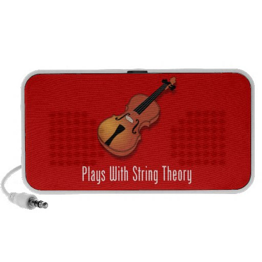 Plays With String Theory - Violin Mp3 Speakers