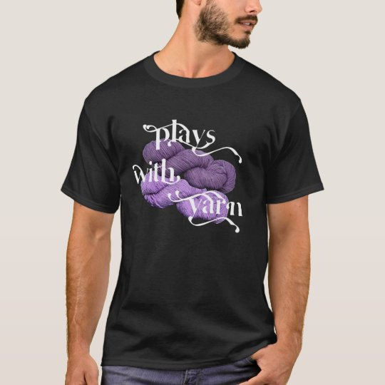 Plays with Yarn Ladies T-shirt