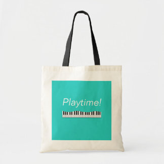 Playtime! Piano Tote Bag