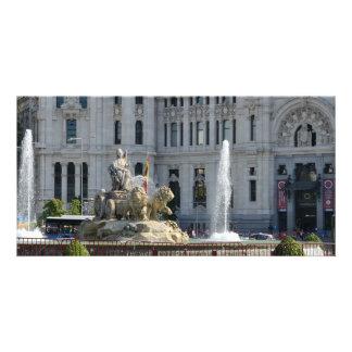 Plaza de Cibeles, Madrid Photo Card