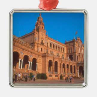 Plaza de Espana in Seville, Spain. Christmas Ornament