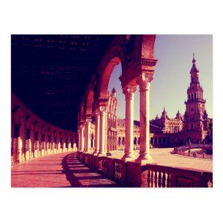 Plaza de Espana Postcard