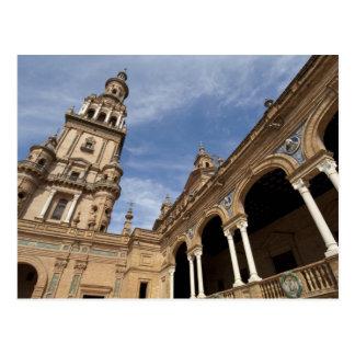 Plaza de Espana, Seville, Andalusia, Spain Postcard