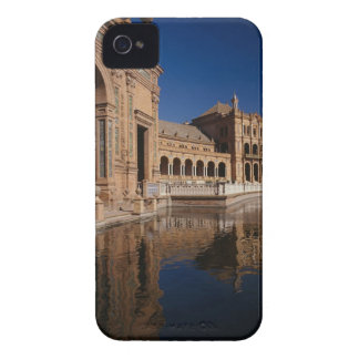 Plaza de Espana, Seville, Spain iPhone 4 Case-Mate Cases