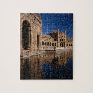 Plaza de Espana, Seville, Spain Jigsaw Puzzle