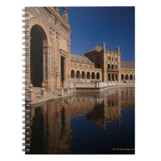 Plaza de Espana, Seville, Spain Notebook