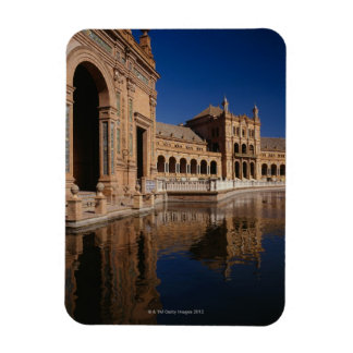 Plaza de Espana, Seville, Spain Rectangular Photo Magnet
