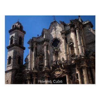 Plaza de la Catedral, Havana, Cuba Postcard