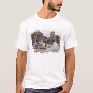 Plaza De La Virgin And Basilica De Virgen T-Shirt