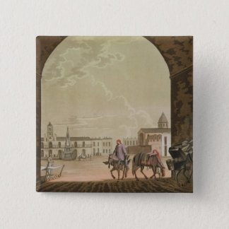 Plaza de Mayo, Buenos Aires, Argentina, from 'Le C 15 Cm Square Badge