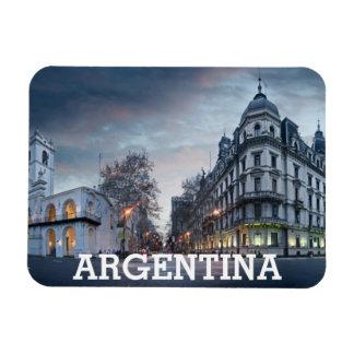 Plaza De Mayo Square Rectangular Photo Magnet