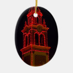 Plaza Lights Of Kansas City! Ceramic Oval Decoration