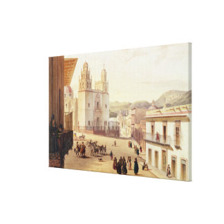 Plaza Mayor de Guonajuato Canvas Print