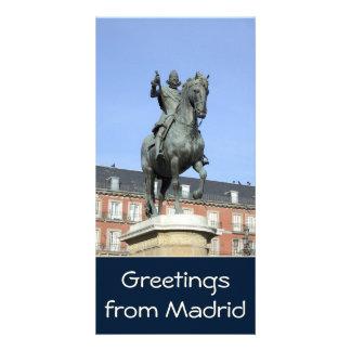 Plaza Mayor, Madrid Photo Card