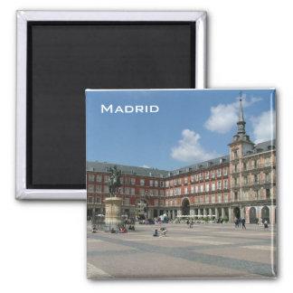 Plaza Mayor Square Magnet