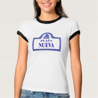 Plaza Nueva, Granada Street Sign T-Shirt