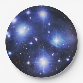 Pleaides Paper Plate