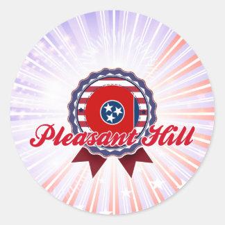 Pleasant Hill, TN Round Sticker