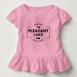 Pleasant Lake Toddler Ruffle Tee