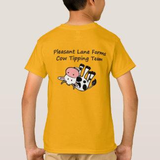 Pleasant Lane Farms Cow Tipping Team T-Shirt