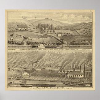 Pleasant View Farm Print