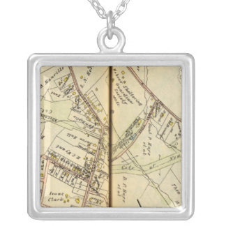 Pleasantville, New York Silver Plated Necklace