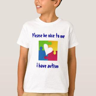 Please Be Nice - autism awareness shirt