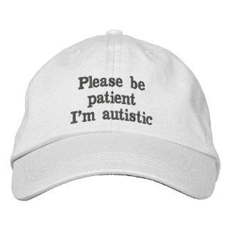 Please Be Patient Hat Baseball Cap